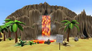 Evil Villain Island Lair